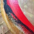 Duo, acrylique sur toile-détail